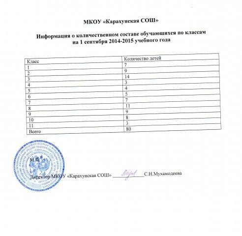 КарахунскаяСОШ